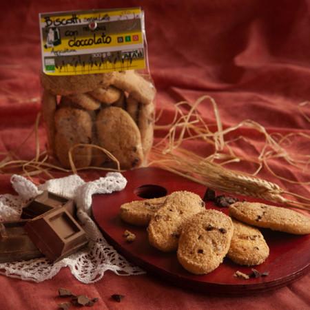 biscotti senza latte nè uova al cioccolato ok